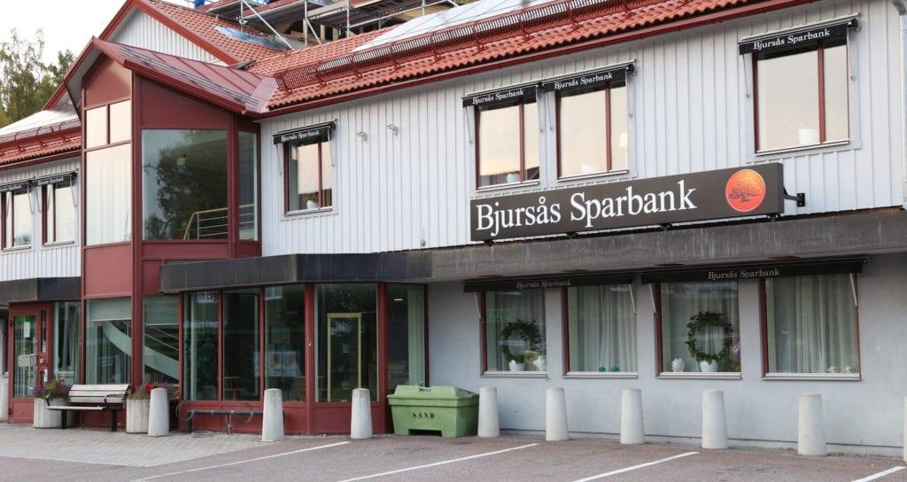 Bank i Bjursås