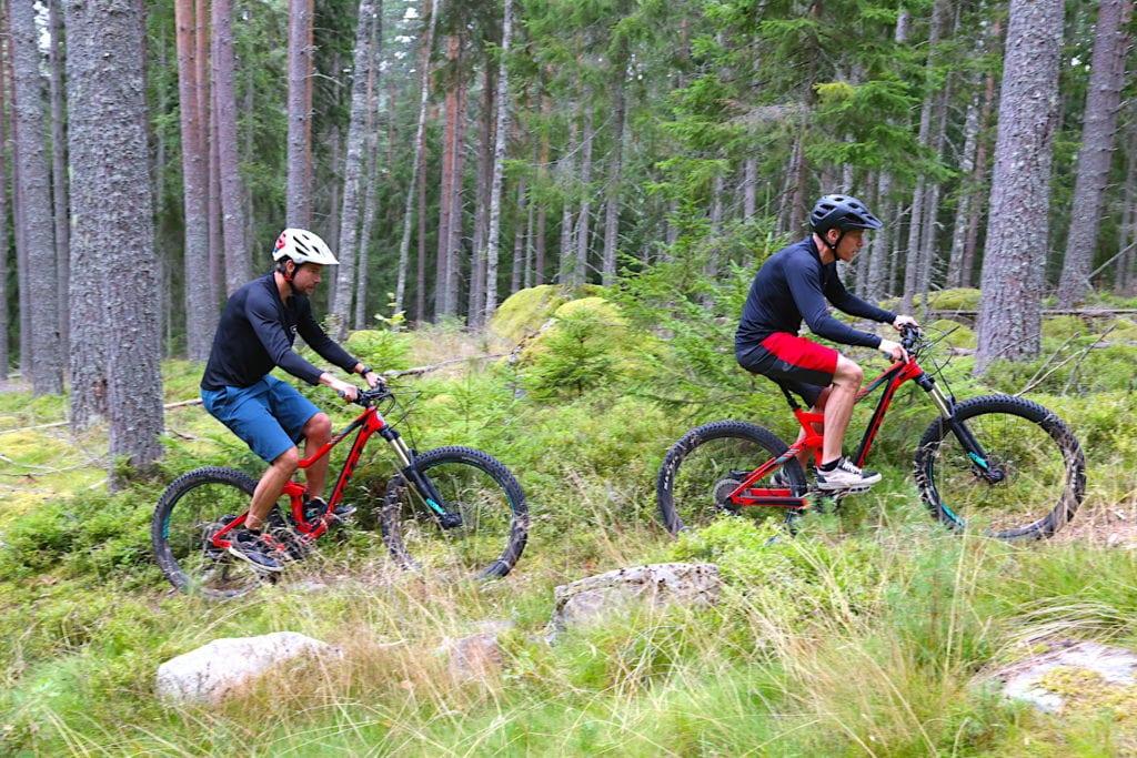 MTB cykling i Bjursås